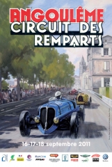 circuit des remparts, Angouleme for classic car racing near our holiday gites